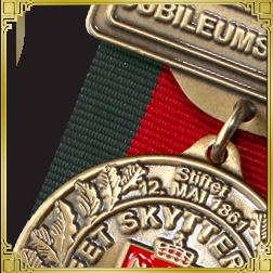 Støpte/designede medaljer