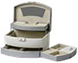Smykkeskrin-P6868D-336-220x160x128mm-beige-sand-kr 897 bilde 2
